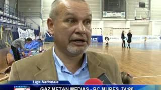 Gaz Metan a fost invinsa de BC Mures - novatv.ro