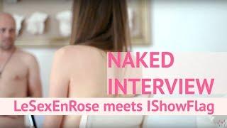 Le Sex En Rose Naked Interview with I SHOW FLAG vulva cast artist