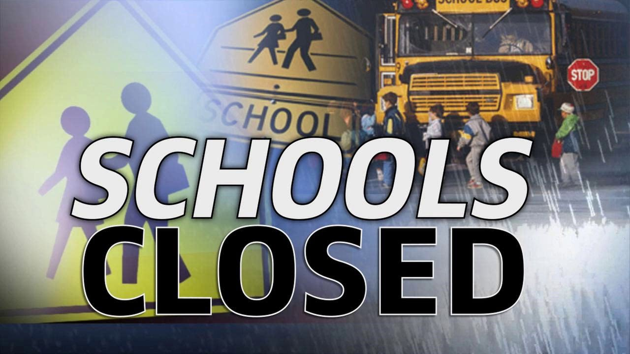 Snow causing school delays, closings