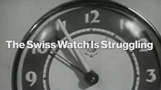 Why Swiss Watch Sales Are Slumping
