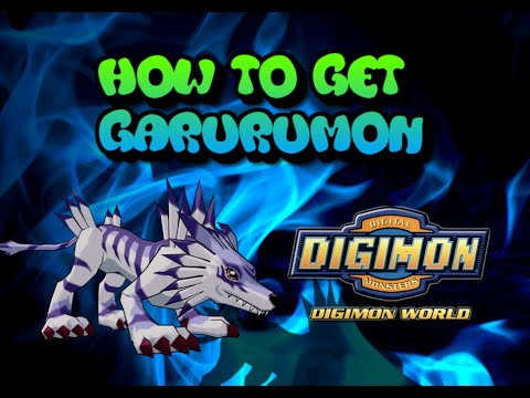 Digimon World - How to get Garurumon FULL WALKTHROUGH !