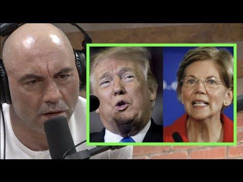 Joe Rogan Doesn't See Elizabeth Warren Beating Trump in 2020 Election