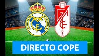 (SOLO AUDIO) Directo del Real Madrid 4-2 Granada en Tiempo de Juego COPE