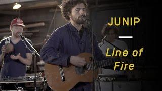 "Junip Perform ""Line of Fire"""