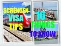SCHENGEN VISA TIPS || 16 THINGS TO KNOW ||