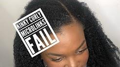 Kinky Curly (natural Hair) Braidless Weave FAIL 😫