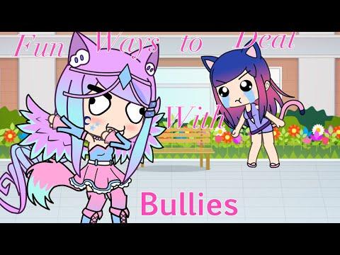 Fun Ways to Deal With Bullies (Gacha Life)