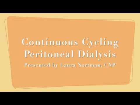Continuous Cycling Peritoneal Dialysis (CCPD)