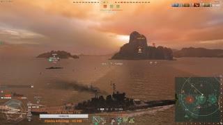 Вечерние покатушки. World of Warships