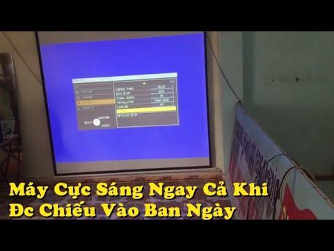 Thanh Lý Máy Chiếu Hải Phòng ,  Bán Máy Chiếu Hải Phòng , Review Máy Chiếu Panasonic Pt-f100