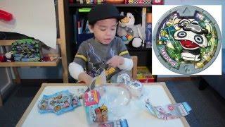 Yo-Kai Watch Unboxing (Happy 70th Birthday Lolo)