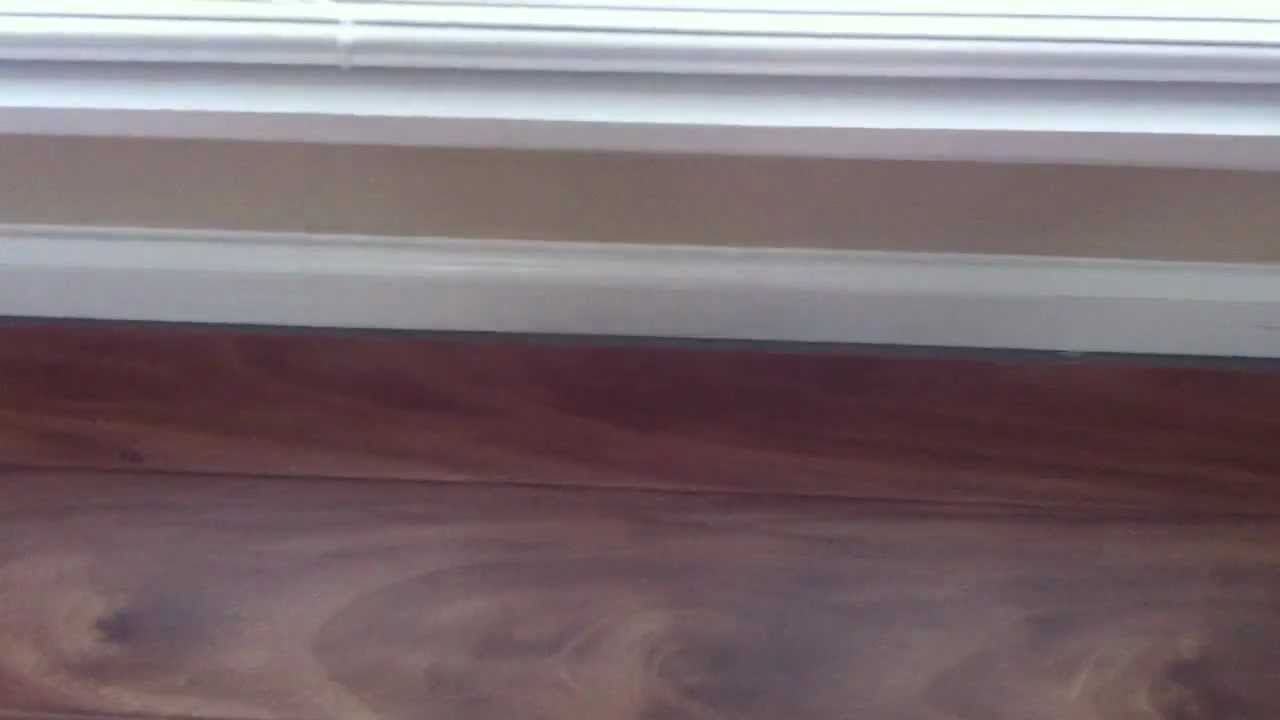 What is an expansion gap youtube for Wood floor expansion gap
