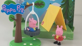 Peppa Pig Camping Trip playset Kids Toy Review unboxing | Jelly Frog Toys