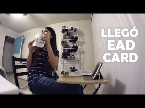 """183. LLEGÓ MI """"EAD CARD""""!"""