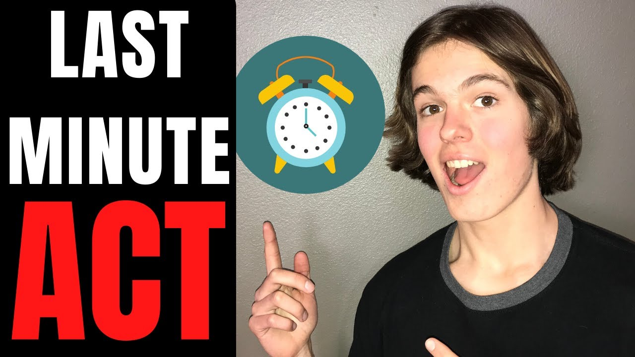 Download ACT Last Minute Prep - Testing Hacks Without Studying (NIGHT BEFORE ACT REVIEW)
