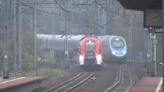 [PKP InterCity] ED250-007 & ED250-009 - dwa Pendolino w Poznaniu na testach