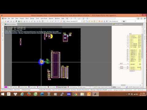 Hướng dẫn thiết kế mạch bằng Altium-Basic