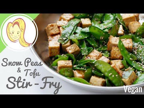 Snow Peas & Tofu Stir-Fry (Vegan)
