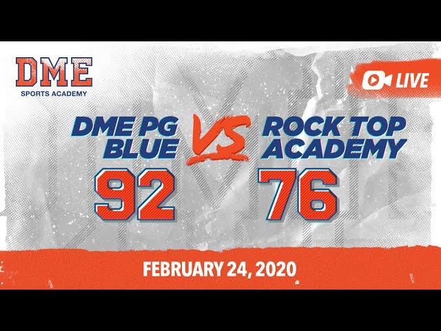 DME PG Blue vs Rock Top