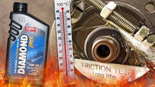 Teboil Diamond FS 5W30 Jak skutecznie olej chroni silnik? 100°C