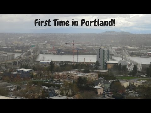 First Time in PORTLAND! | Family Trip  Day 1
