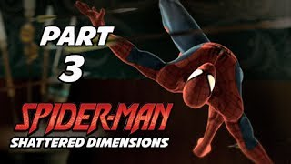 Spider-Man Shattered Dimensions Walkthrough Part 3 - Cage Duel (Gameplay Commentary)