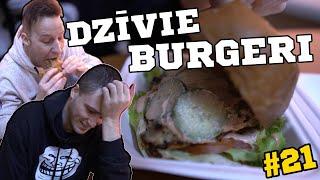 DZĪVIE BURGERI   ēdienvlogs #21