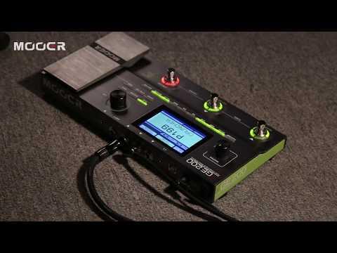 MOOER GE200 Amp modelling&multi effects 2