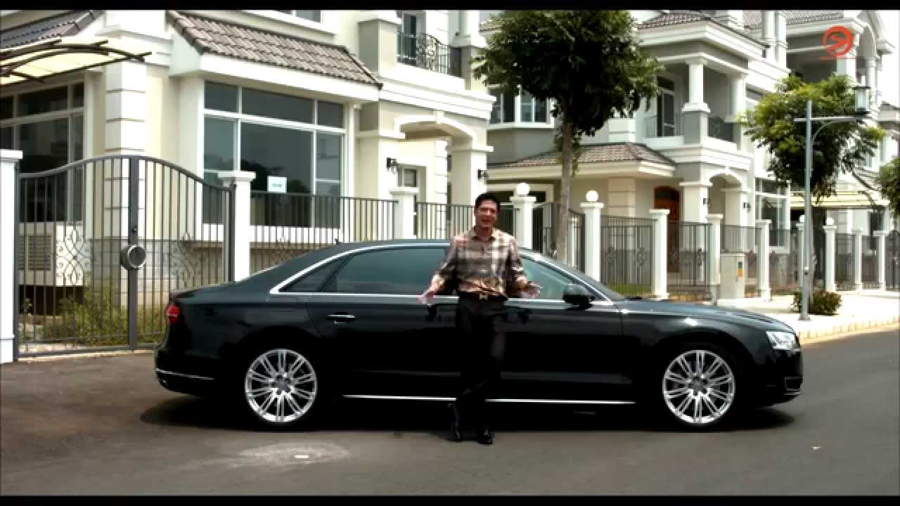 2015 audi a8l 4 0 review youtube. Black Bedroom Furniture Sets. Home Design Ideas
