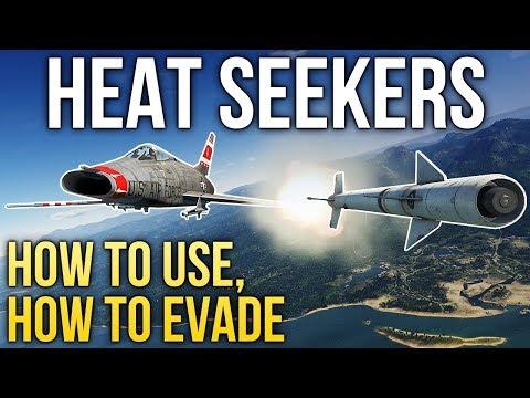 Heat-seeking Missiles 101 / War Thunder