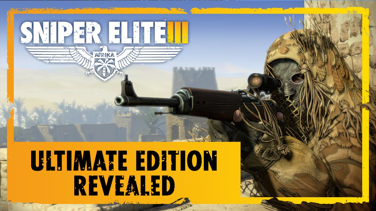 Sniper Elite 3 Ultimate Edition Trailer Coming March 2015 To Ps4