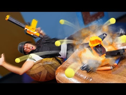 NERF Soldiers & Scouts Challenge!