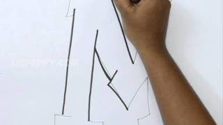 How to Draw Graffiti Letter M