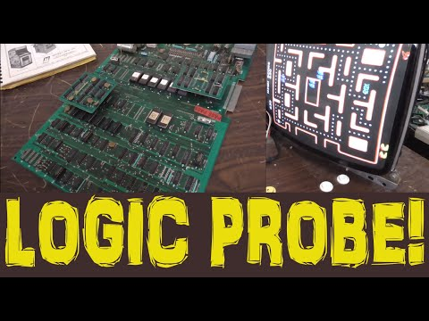 Repairing A 1981 Midway Pac-Man Arcade PCB With Screwed Up Sprites!