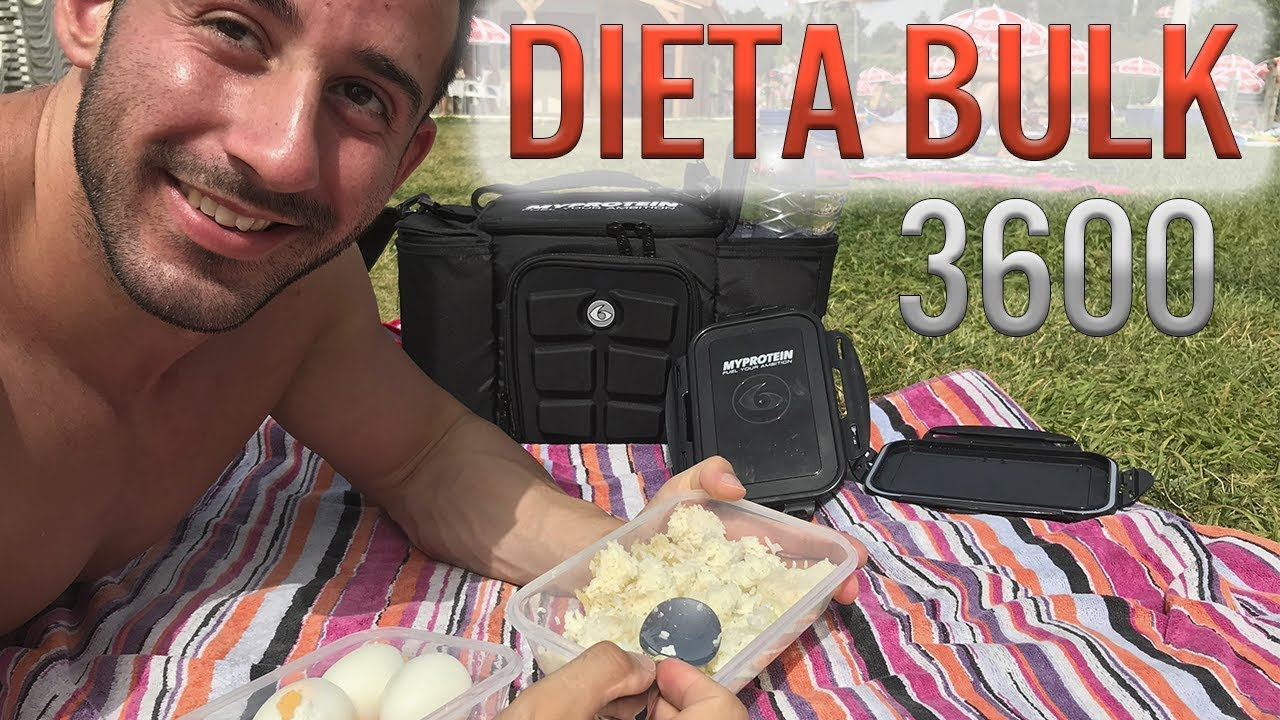dieta bulking 3500 kcal