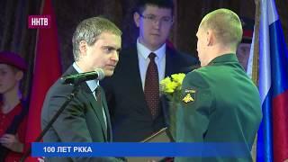 В.Панов поздравил военнослужащих и ветеранов войны со 100-летием образования Красной Армии