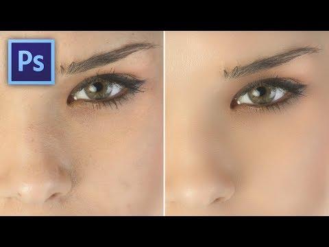 Photoshop tippek (#135.) - Bántóan tökéletes arcbőr (#tutorial) videó letöltés