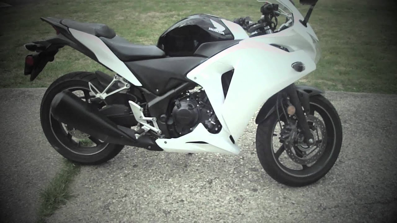 White 2011 Honda Cbr250r Youtube