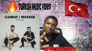 Canbay & Wolker - Fersah  / TURKISH RAP REACTION Resimi