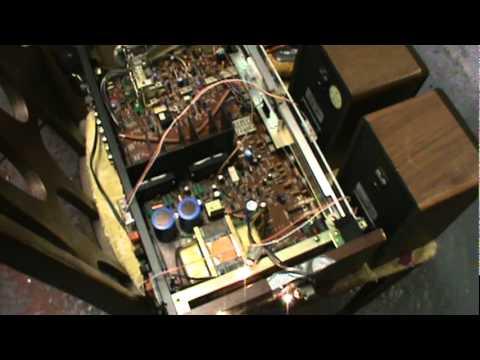 testing new components on the technics sa 300 stereo amplifier Technics SA 300 Specs