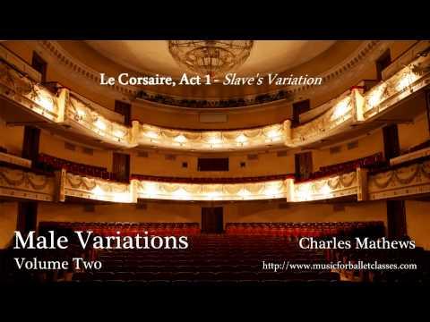 Le Corsaire, Act 1 - Slave's Variation - Male Ballet Solo