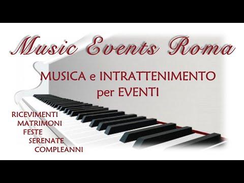 Musica per Matrimoni • Roma - Duo Musicale per il Ricevimento @ Villa Ferrata