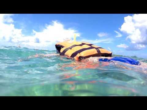 Caribbean Coral Reef Snorkelling, Mexico 29/06/2016 - SJCAM SJ5000X
