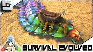ARK: Survival Evolved - ANTHROPLEURA CENTIPEDE TAMING! S3E102 ( Gameplay )