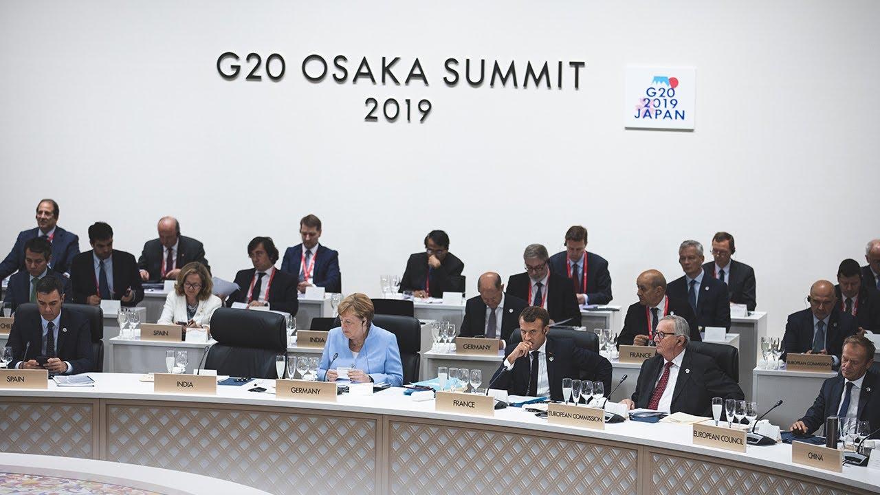 G20 d'Osaka - Conférence de presse d'Emmanuel Macron