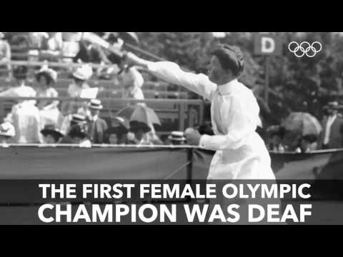 The Inspiring First Ever Female Olympic Champion