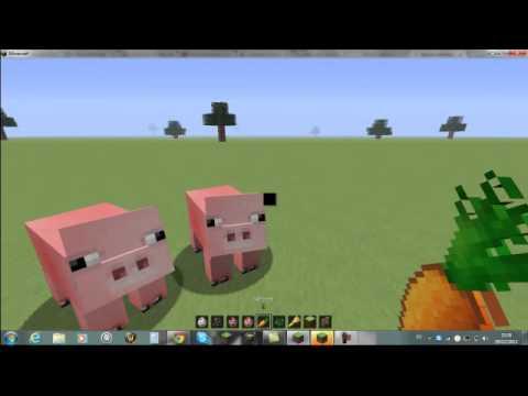 Que mange les poulets et les cochons minecraft youtube - Minecraft cochon ...