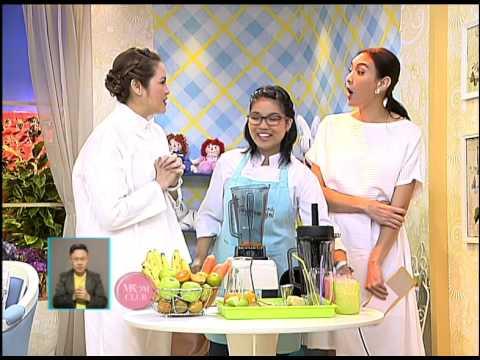 รายการ Mom club เมนูน้ำผลไม้ปั่นเพื่อสุขภาพ by เย็นชื่นใจ (Yenchuenjai)