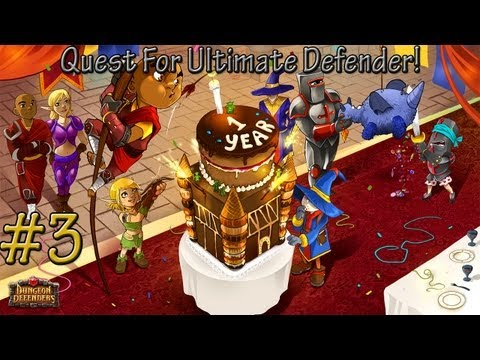 Dungeon Defenders! Quest For Ultimate Defender! GLITTERHELMS!!! #3