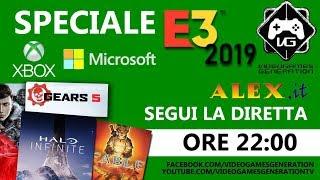 Speciale E3 2019 | MICROSOFT XBOX | SEGUI LA DIRETTA IN ITALIANO CON VIDEOGAMES GENERATION